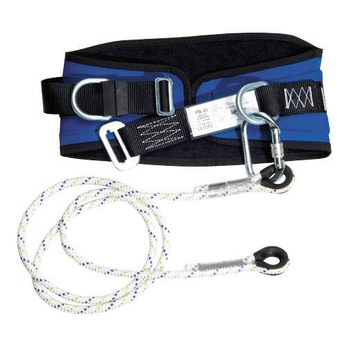 WOLFPACK LINEA PROFESIONAL 15030010 Cinturon Seguridad con Cuerda y Mosquetón