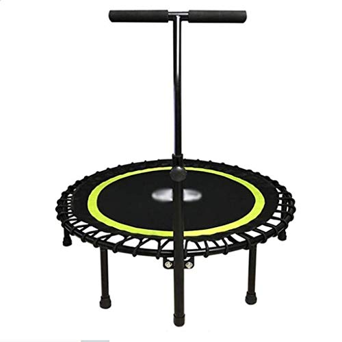Lowest Price! Trampoline 40 Inch Adult Trampoline Fitness Indoor Sports Jumping Bed Collapsible Weig...