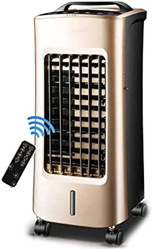 5 i 1 luftkylare purifier luftfuktare värmare & amp fläkt luftkonditionering med 12 timmar timer och fjärrkontroll 5L vattentank