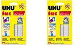 Hang posters, charts, memos, decorations and more without leaving holes or messy residues Adheres to most clean, dry surfaces without tacks, tape or glue-won't stain or dry out It's the no-mess way to easily hold paper items in place Best of all, it'...