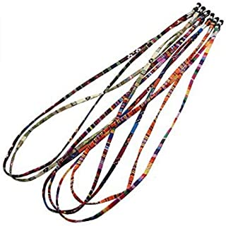 ea27a3e1a4 Mttheaw Fashion - Juego de 5 correas para gafas de sol (estilo étnico),