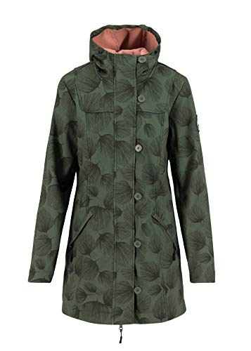Blutsgeschwister Damen Wild Weather Parka, Whispering Leaves, S