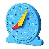 WoRamy Reloj de aprendizaje para niños, reloj de juguete para aprender a los niños reloj de aprendizaje reloj modelo de reloj de tiempo ajustable reloj de aprendizaje