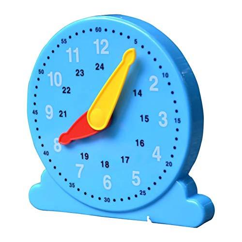 Uhr Spielzeug Kinder lernen Uhr Lernen Uhren Uhr Modell einstellbare Zeit Lernuhr Uhr Spielzeug Kinder pädagogischen Wecker einstellbare Zeit Lehrzentrum Lernuhr Spielzeug für Kleinkinder Lernzeit