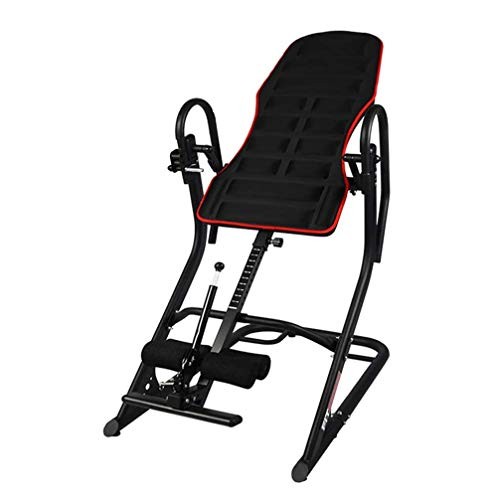 New ZDMSEJ Inversion Table, Home Adjustable 180° Free Handstand Machine, 3D Backrest, Protects The ...