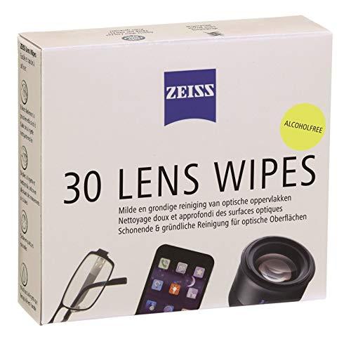 Zeiss Brillenpoetsdoekjes Lens Wipes, 30 Stuk
