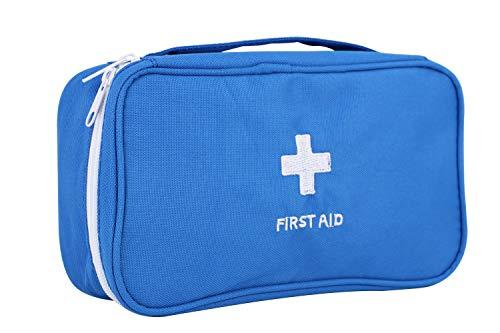 Draagbare First Aid Kit Tas Lege Mini Eerste Hulp Rugzak Tas Noodpil Eerste Hulp Medicine Organizer Opbergtas 1e Hulp Zakje Zakje voor Camping Wandelen Thuis Gezondheid Eerste Responder