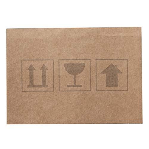 Kartenset 'Umzugkarton' - 20 Karten aus Wellpappe - Einladungen zur Einweihungsparty, Umzug, Ankündigung zur Adressänderung