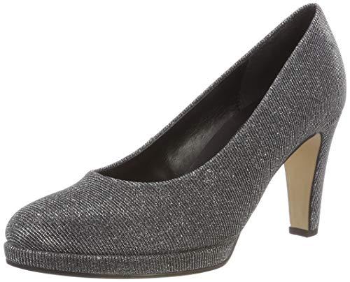 Gabor Shoes Damen Fashion Pumps, Grau (Argento 69), 40 EU
