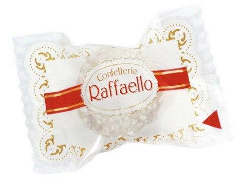 1x Ferrero Raffaello - Inhalt: 285 Stück / Karton à 1 Süßigkeiten, Nahrungsmittel