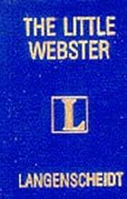 Langenscheidt's Lilliput Webster English Dictionary (Langenscheidt's Pocket Dictionaries)