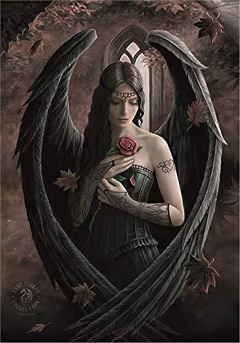 Anne Stokes Textil-Poster Angel Rose 75 x 110 cm
