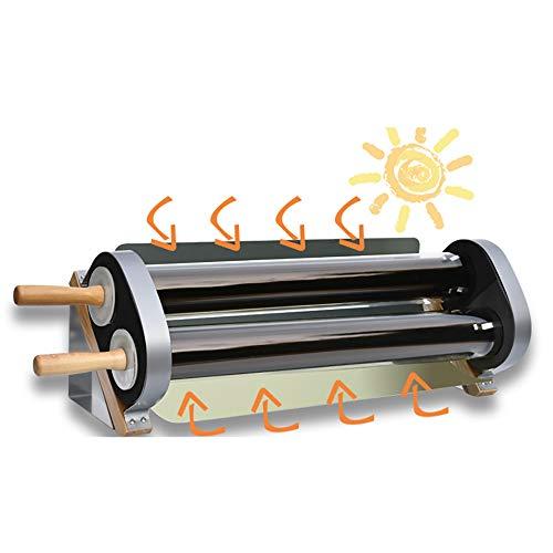 LMEILI Solar Portátil Grill, De Ahorro De Energía De Combustible Libre De La Parrilla, Al Aire Libre Hogar Horno Grill, Campo del Tubo De Vacío Sin Humo De La Parrilla, Uso Comercial, Hogar, C