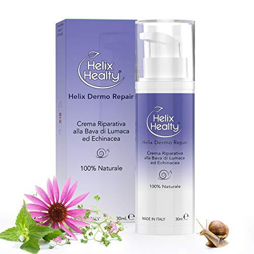 Helix Dermo Repair Crema de reparación de baba de caracol Echinacea Hypericum 100% NATURAL 30ML Psoriasis Dermatitis Quemaduras solares Helix Healty Made in Italy