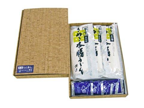 香川県特産品 饂飩讃匠 半生讃岐うどんセット 300g×5袋(SS-2753並切麺)