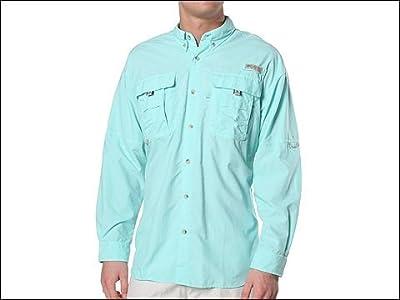 Columbia Bahama II Long Sleeve Shirt (Gulf Stream) Men