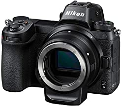 Nikon Z6 FX-Format Mirrorless Camera Body with Mount Adapter FTZ (Renewed)