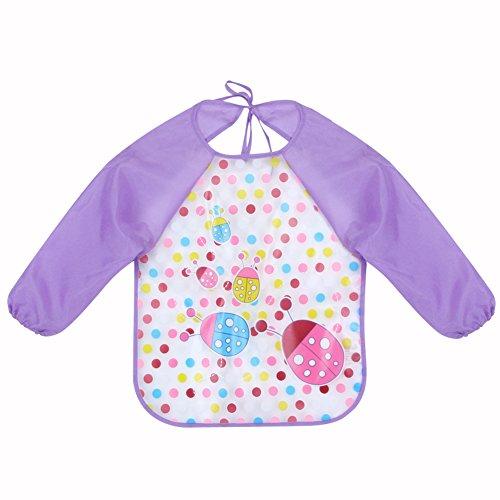 TBS bébé pour enfant à manches longues imperméable Vêtements Housse Bavoir X Lot de 2