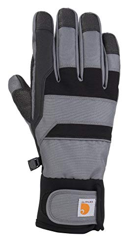 Visit the Carhartt Store Herren Flexer Glove Winter-Handschuhe, Dunkelgrau/Schwarz, XL