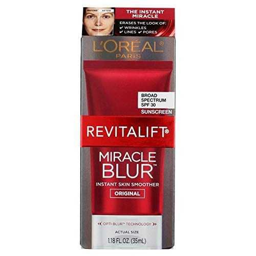 Loreal Revitalift Miracle Blur Instant Skin Smoother Original 1.18 fl oz - Pack of 2