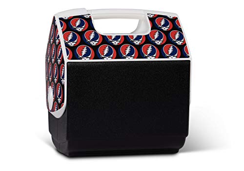 Igloo Limited Edition Grateful Dead Steal Your Face Playmate Pal 7 Qt Cooler