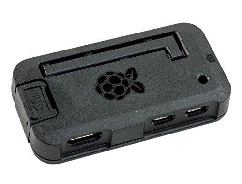 Premium Raspberry Pi Zero Case - Black