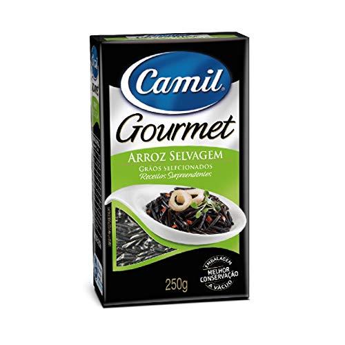 Arroz Selvagem Gourmet Camil 250g