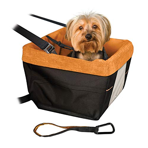Kurgo Rover Booster Dog Car Seat with Seat Belt...