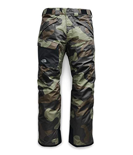 The North Face Men's Freedom Pant, Four Leaf Clover Terra Camo Print, M Long