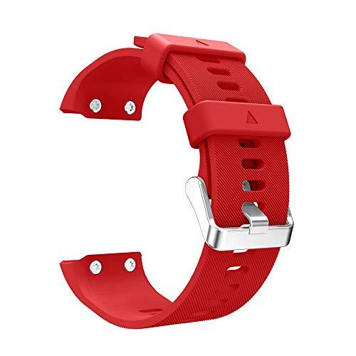 Riou Correa para Reloj,para Garmin Forerunner 35 Correa para la muñeca de Repuesto Correa de Banda Suave de Silicona Pulseras de Repuesto
