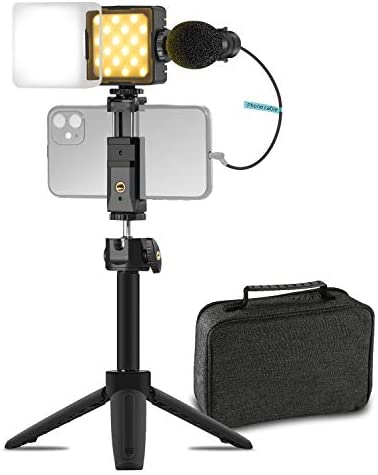 Sutefoto Vlogging Kit for Phone Video Recording Vlogger Smartphone YouTube Filming Starter Vlog product image