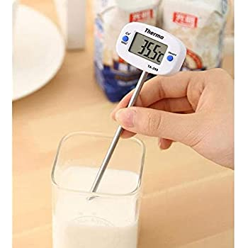CASON (DEVICE OF C) Digital 50 °C to +300 °C PVC Thermometer Probe for Kitchen, Medium, White