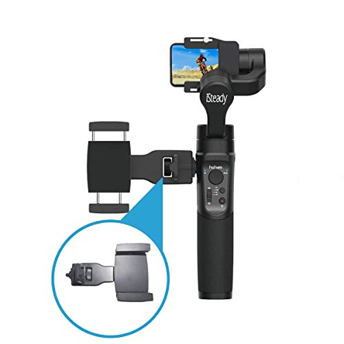 Hohem Smartphone Holder Phone Gimbal Clip Mount for Hohem iSteady Pro/Pro 2 iSteady Mobile/Mobile Plus Gimbal Accessories with Universal 1/4'' Screw