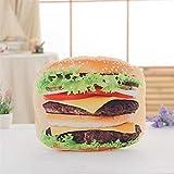 Yuhualiyi123 Simulation Pizza & Keks & Hamburger Plüsch Kissen Soft Cartoon Fast Food Brot & Hot Dog Gefüllte Puppe Sofa Stuhl Kissen Lustige Geschenke (Color : 7)