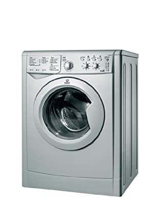Indesit IWDC6125S B Rated Freestanding Washer Dryer - Silver