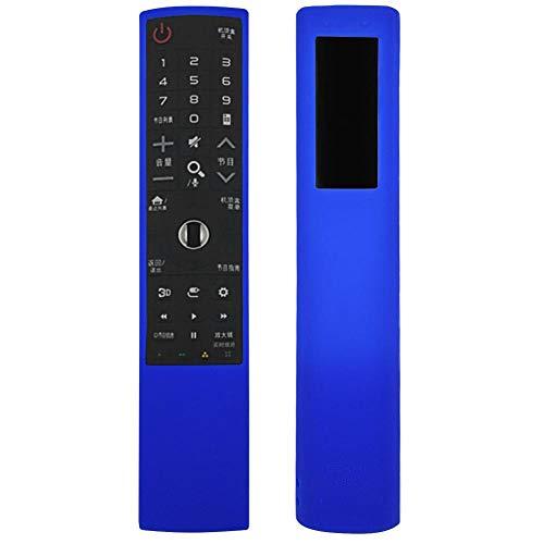 Taidda Capa protetora para controle remoto de TV, leve, à prova de choque, capa protetora de silicone com resistência ao desgaste para controle remoto de TV Lg AnMr700 2#