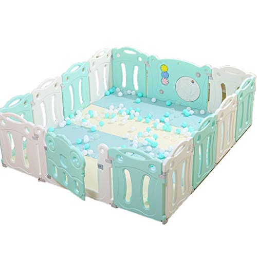 Read About Playard Baby Playpen Kids Activity Center Safety Play Yard Home Indoor - Outdoor Play Pen...