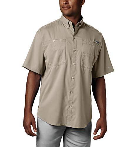 Columbia Men's Tamiami II Short Sleeve Shirt, Fossil, XX-Large