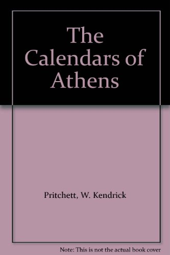 The Calendars of Athens