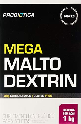 Mega Maltodextrin, Guaraná com Açaí, Probiótica, 1 Kg