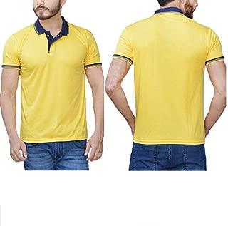 RVS Polo Neck T-shirts for Men Color Blue Size XXl