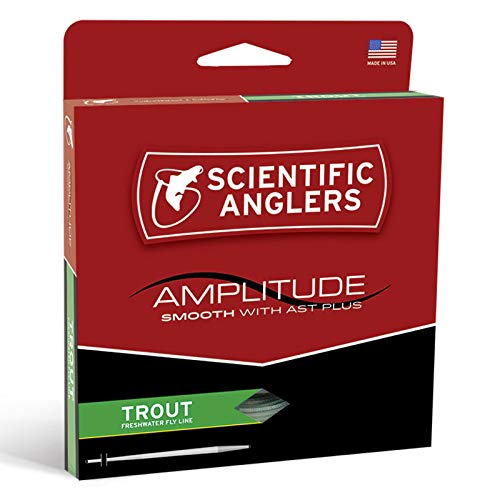 Scientific Anglers SA Amplitude Smooth Trout Taper, WF-4-F
