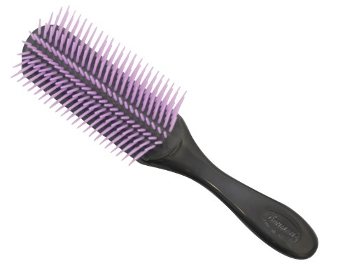 Denman D4 9-Row Styler Black/Purple Pins