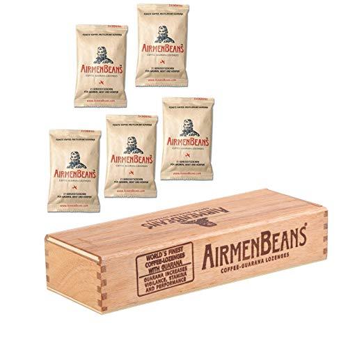 AirmenBeans Airmen Beans Geschenk Set Holz Box + Pastillen, ABSTBP