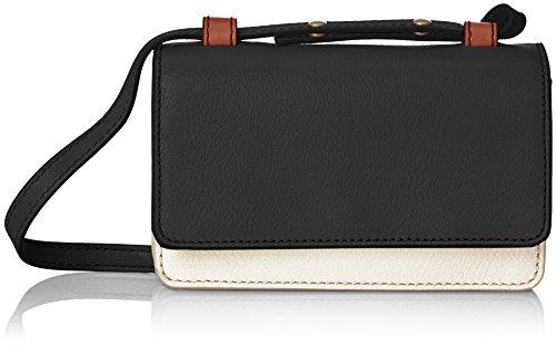 Fossil Damen Damentasche- Mila Minitasche Umhängetasche Schwarz (Black)