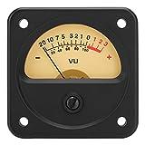Shipenophy Medidor de Audio ABS VU Medidor VU TR-45-S0348 Probador de Nivel DB para Estudio de grabación