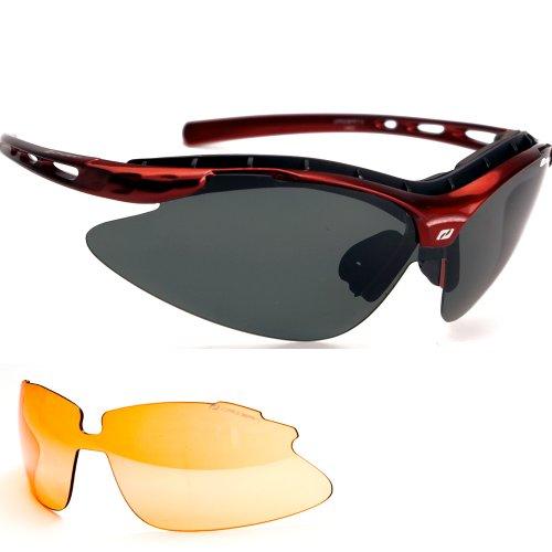 Daisan Radbrille Fahrradbrille Sportbrille polarisierende