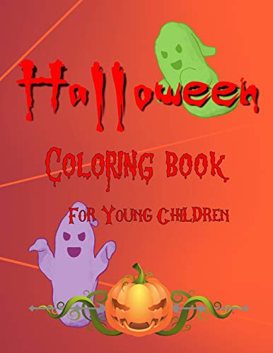 Halloween Coloring Book For Young Children