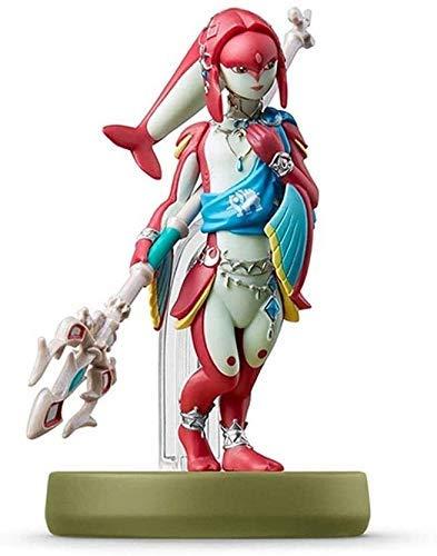 Realista y divertido Legenda de la estatua de juguete de Zelda Amiibo: ¡Figurilla MIPHA!Leyenda de Zelda Figura de acción Juego Marca maestra Figura de colección de la respiración del Wild Japan Impor