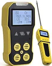 Basic MULTIGAS + Pump Analyzer, Detector, Meter by Forensics | O2, CO, H2S, LEL | USB Recharge | Sound, Light & Vibration Alarms | Large Display & Backlight |